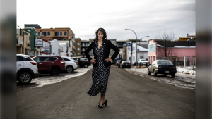 NDP MP Heather McPherson pictured in Edmonton on Friday, March 6, 2020. McPherson is Alberta's only non-Conservative MP. THE CANADIAN PRESS/Jason Franson