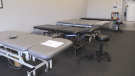 Patients at Northern Chiroprators & Physiotherapy will be separated for physical distancing. May 31/2020 (Christian D'Avino/CTV News Northern Ontario)
