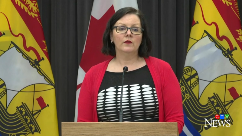 """We are pleased to see how all our partners have come together to help us manage the situation,"" said Dr. Jennifer Russell, New Brunswick's chief medical officer of health."