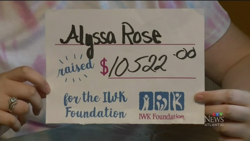 N.S. teen raises over $10.5K for IWK donation