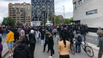 Thousands took to the centre of Montreal Sunday to protest police brutality and racial profiling joining the hundreds of thousands across the continent.