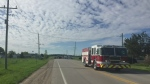 Motorcycle and SUV collide in Innisfil