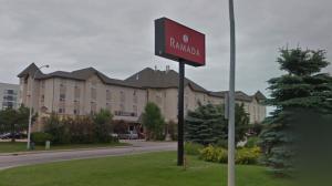 The Ramada on 100 Avenue in Edmonton. (Source: Google Street View)