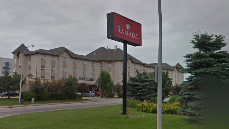 The Ramada on 100 Avenue in Edmonton. (Source: Google Street View)