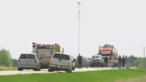 Fatal crash in Lamont County