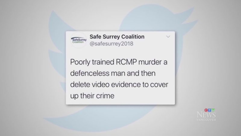 McCallum under fire for party's deleted tweet