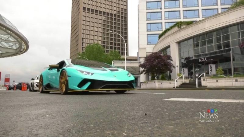 Super car parade