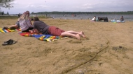 Wabamun Beach