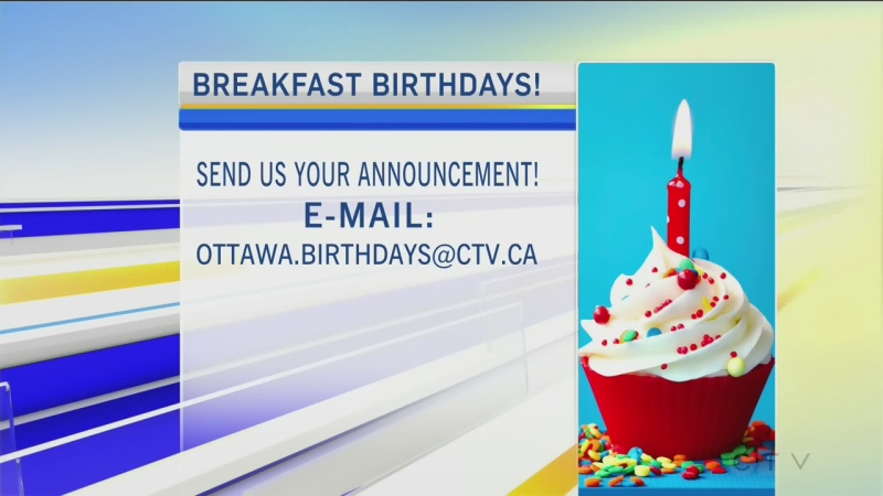 CTV Morning Live Birthdays June 01