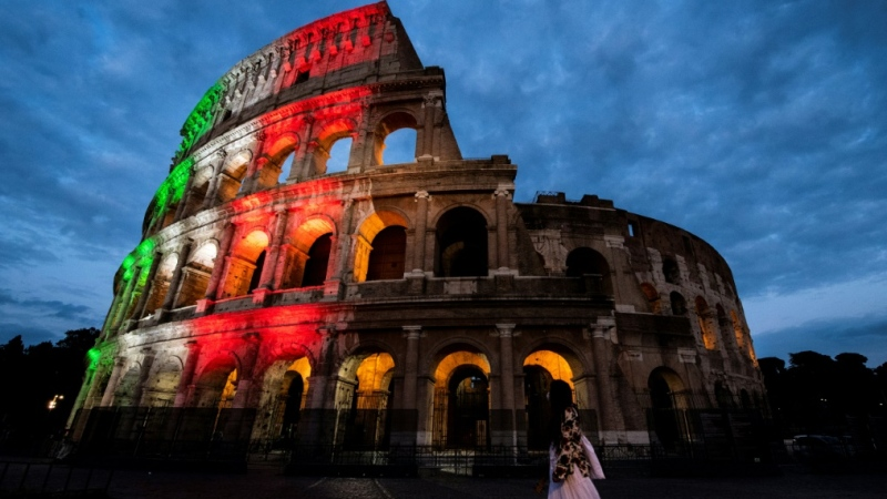 Rome's famed Colosseum reopened on June 1.  (AFP)