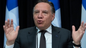 Quebec Premier Francois Legault. (Canadian Press file photo)