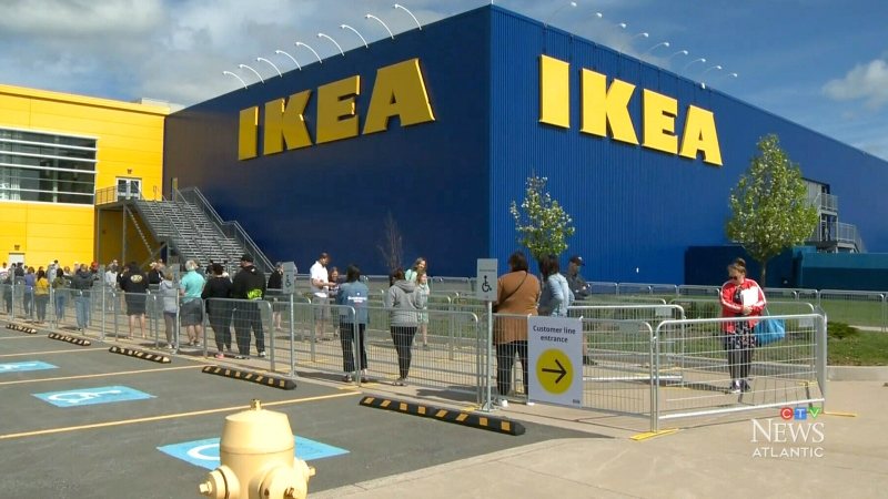 Start the car: IKEA reopens in Dartmouth