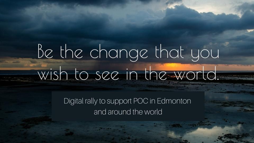 Edmonton POC Virtual Rally
