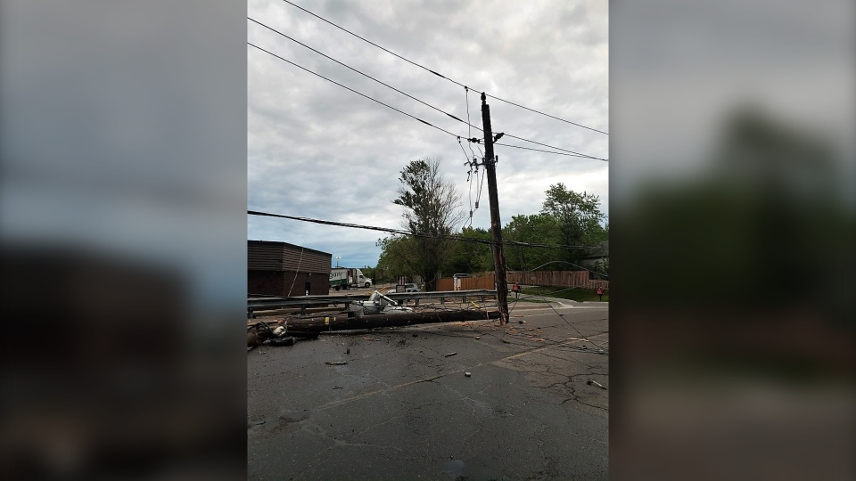 About 350 homes were left without power for a few hours Monday in Minnow Lake on Monday. Greater Sudbury Hydro said the outage was caused when a vehicle crashed into a hydro pole around 5 a.m. (File)