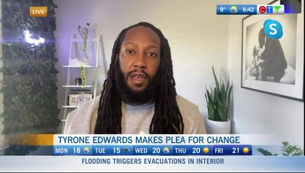 Tyrone Edwards, emotional plea