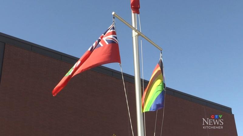St. Jerome's Catholic University raises Pride flag