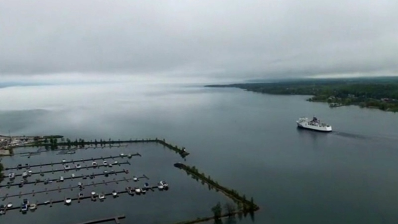 The Chi-Cheemaun ferry service to Manitoulin Island on Lake Huron. (file photo)