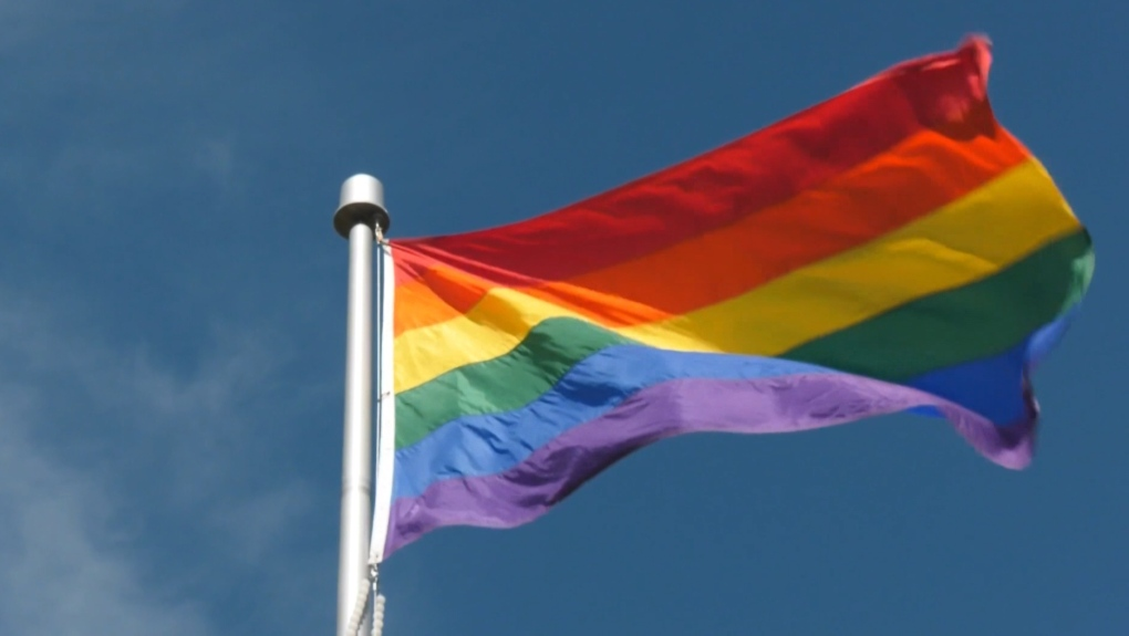Pride flag. (File)