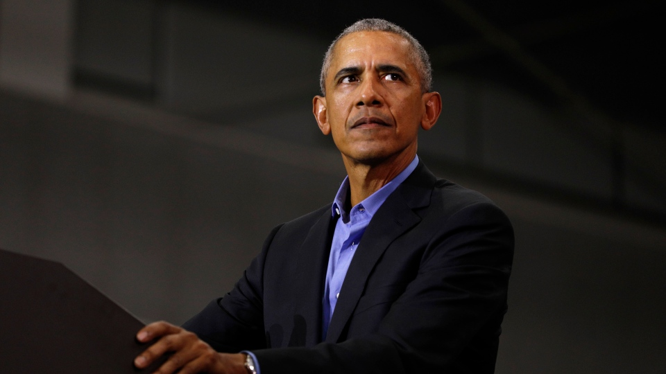 Former President Barack Obama on Monday condemned violence amid protests over the death of George Floyd and police brutality and called for political solutions to address protesters' grievances about criminal justice. (Bill Pugliano/Getty Images)