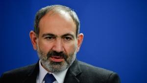 Nikol Pashinyan said he had no 'visible symptoms.' (AFP)