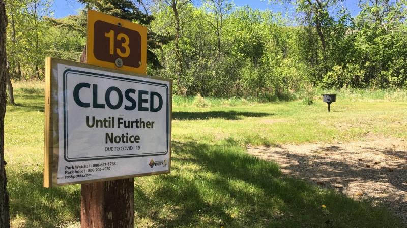 Campgrounds in Saskatchewan opened at half capacity on June 1, 2020 (Gareth Dillistone / CTV News Regina)