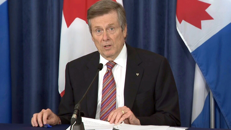 Tory 'proud' of Toronto's expression of solidarity
