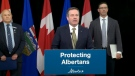 Premier Jason Kenney announces the province is seeking to create the Alberta Parole Board.