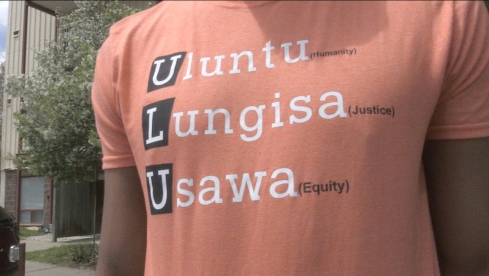 The group 'ULU,' which stands for Humanity, Justice and Equity in South African, was founded by people living in Sudbury who experience racism. (Alana Everson/CTV News)