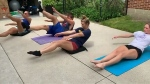 Windsor family reaches fitness goals