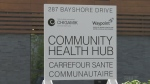 The Midland Community Health Hub officially opened its doors on Mon., June 1, 2020. (Lexy Benedict/CTV News)