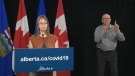 Alberta Chief Medical Officer of Health Dr. Deena Hinshaw gives the COVID-19 update on June 1, 2020.