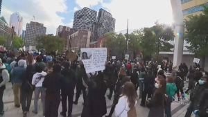 Looters drown out message behind racism protest