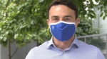 TransLink says its T-branded masks are being launched as part of an initiative to normalize face coverings on the transit system and to get people used to the idea of wearing them.