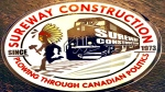Sureway Construction sticker. (Source: Ashley Callingbull)