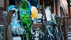 Snowboards are seen in this file photo. (VisionPic / Pexels)