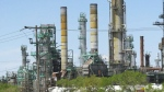 Oil spilled from refinery into wastewater