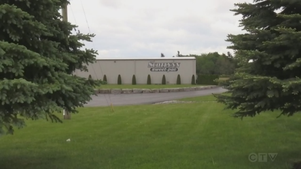 A video grab of a Scotlynn Group facility.