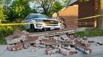 Ott police vehicle crash