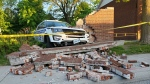 Ottawa police vehicle collides with wall