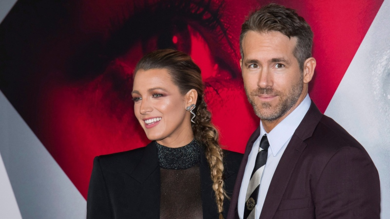 Blake Lively and Ryan Reynolds at The Museum of Modern Art in New York, on Sept. 10, 2018. (Charles Sykes / Invision / AP)