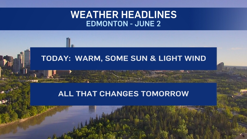 June 2 weather headlines