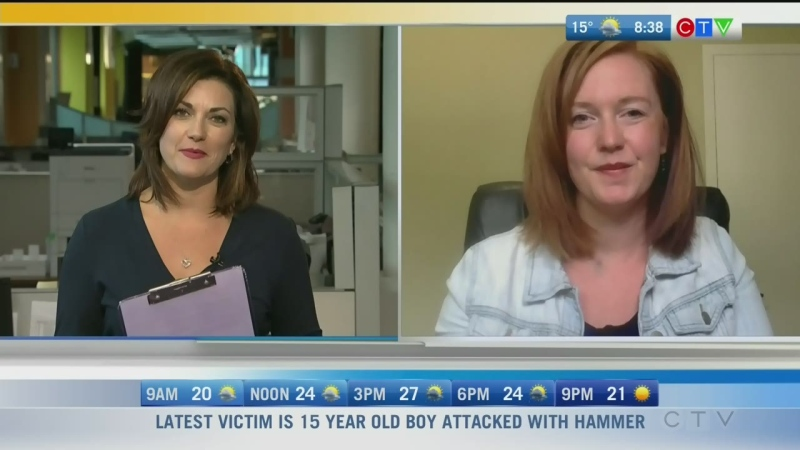 St. Amant counsellor Chelsea McTavish has helped to create online videos to support families at home during the pandemic. Rachel Lagacé has more.