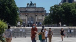 At the Tuileries Garden in Paris, on June 1, 2020. (Michel Euler / AP)