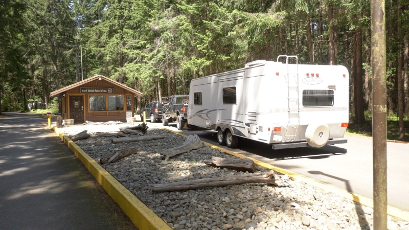 Campers return to Vancouver Island provincial parks in droves as restrictions lifted. (CTV News)