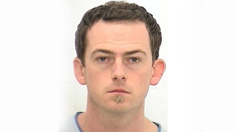 Toronto Police released this photo of David Dewees, 32, on Thursday, Oct. 1, 2009.