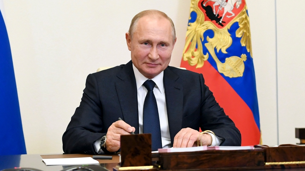 Putin Signs Russia S Nuclear Deterrent Policy Ctv News