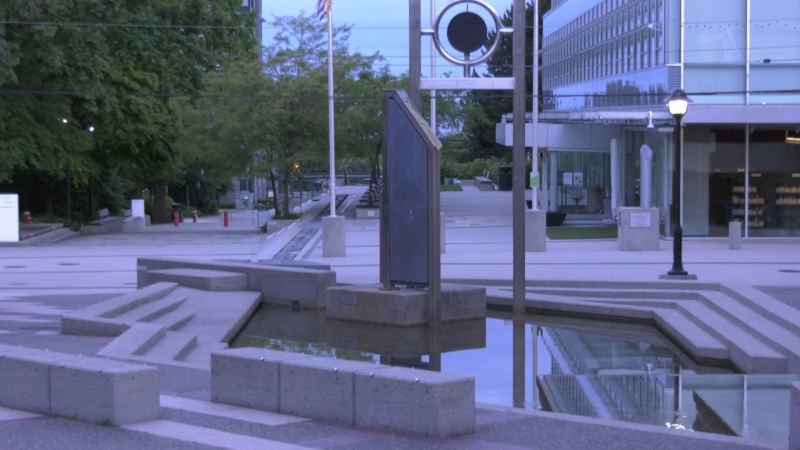 Civic Plaza is one of the areas approved for public drinking North Vancouver.