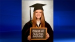 Ava Van Dyk is graduating from Maple Grove Public School.