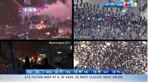 Headlines, Unrest in Washington