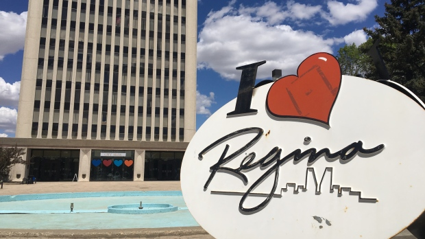 Regina city hall is shown in this file photo (Gareth Dillistone / CTV News Regina)